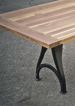 Oak Table with Breadboard Ends and R