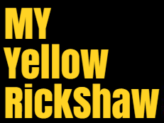 My Yellow Rickshaw
