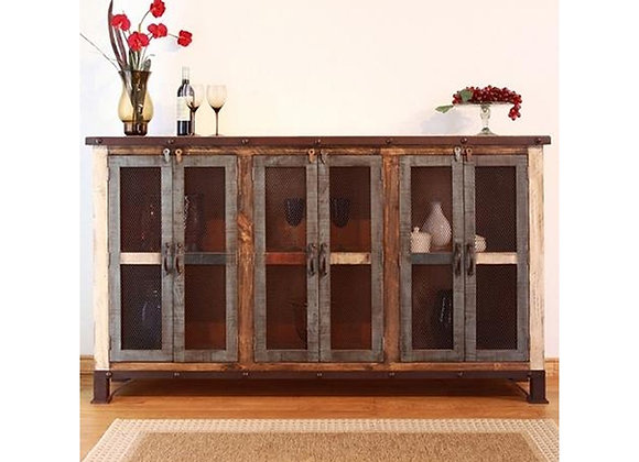 Antique Console (Multicolor) 70""