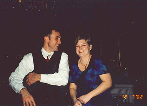 Rick Lee and Molly Jo Mullen in 2002
