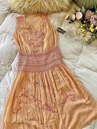 '20s Hungarian Peasant Dress