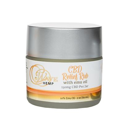 CBD Relief Rub with Emu Oil
