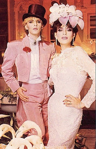 Mr. & Mrs. Nick Rhodes in LIFE magazine