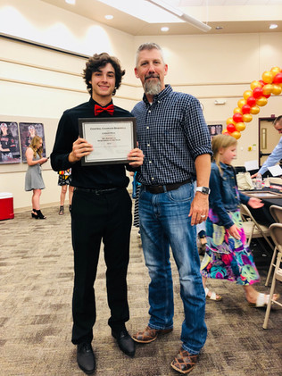 6A - District 3 New Comer of the Year Award - With HS Coach Watson