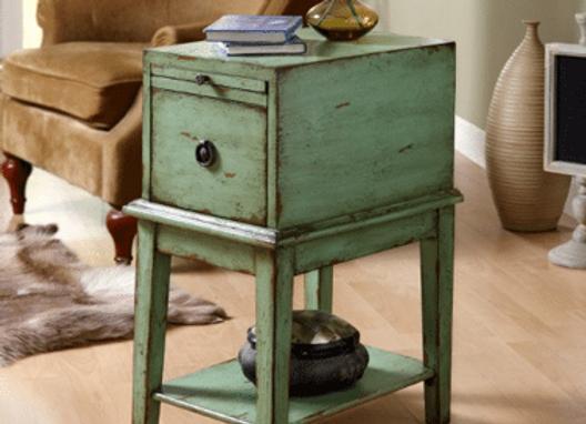 1 Drawer Cabinet (Green)
