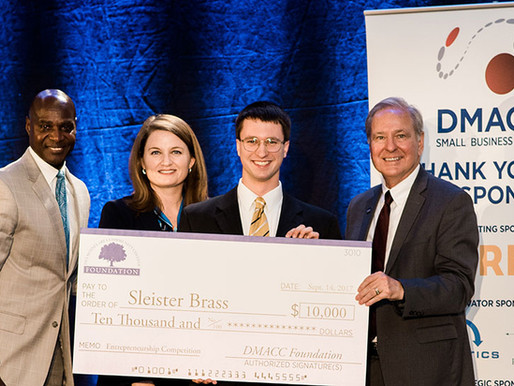 DMACC Announces Small Business and Entrepreneurship Award Winners
