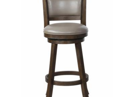 "Cecil Swivel Bar Stool 29"" (Gray)"