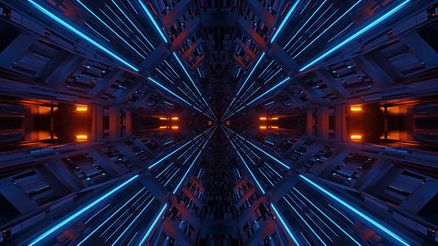 futuristic-symmetry-reflection-abstract-background-with-orange-blue-neon-lights.jpg