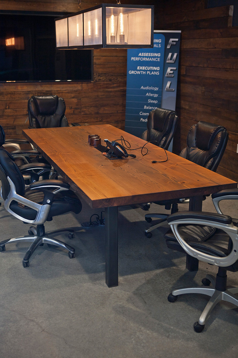 Reclaimed Conference Table