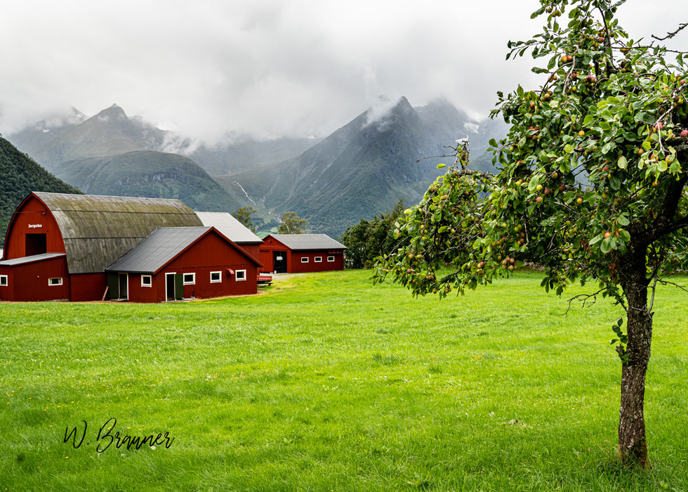 Farm House, Eyke, Norway