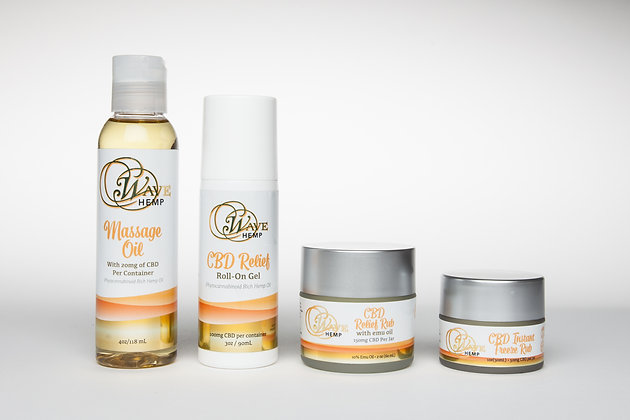 Wave Hemp Topical Collection