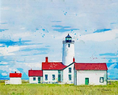Lighthouse, Olympic Peninsula, Washington