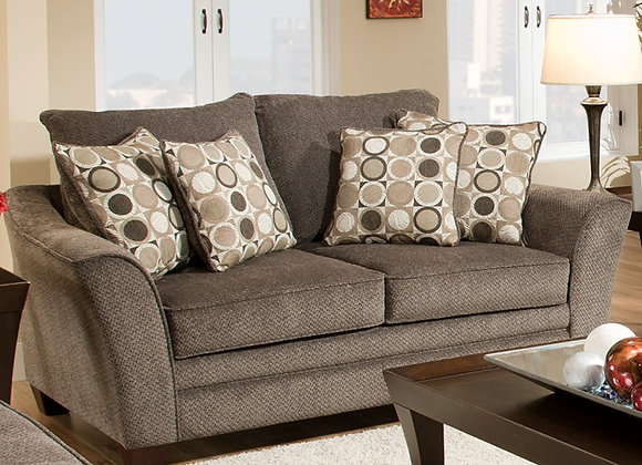 Abbott Loveseat (Dark Pewter)