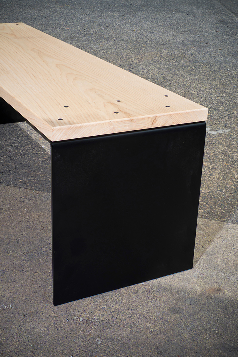 Formed Steel Leg - Ash Top