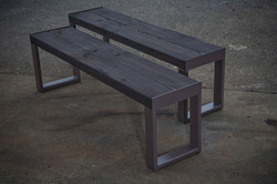 Shou Sugi Ban Benches