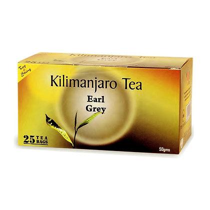 Kilimanjaro Earl Grey Tea Bags - 50g (25s)