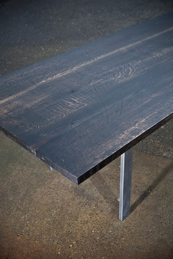 Pickled Oak Stained Table