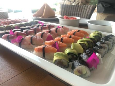 Homemade fresh sushi!