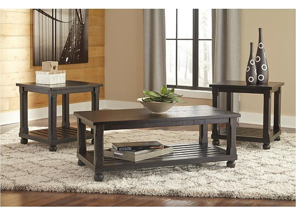Mallacar Occasional Table Set 3pk