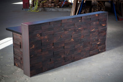 Reclaimed Reception w/ Stacked Ends