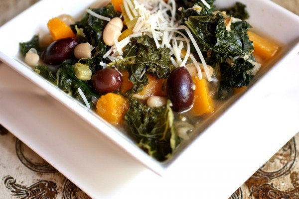 White Bean, Butternut Squash, & Kale Stew