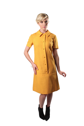 60's Matthew's Wool Dress