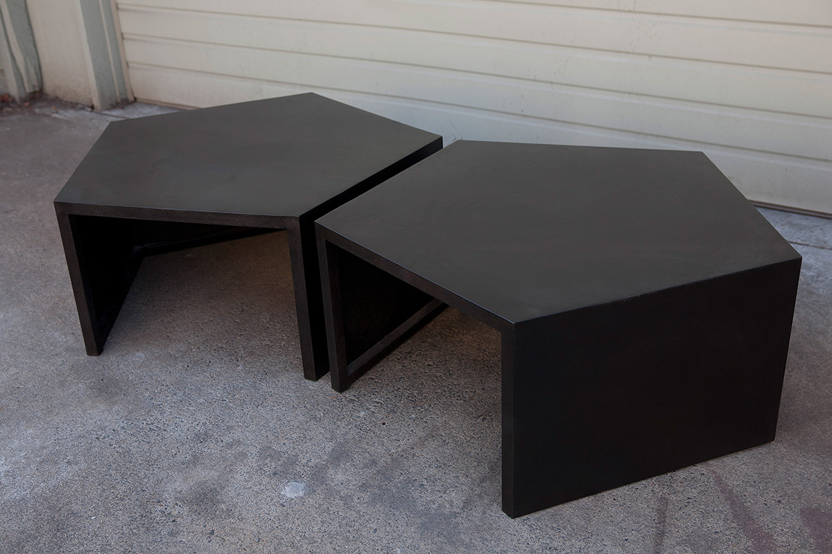 Matching Pentagon Tables
