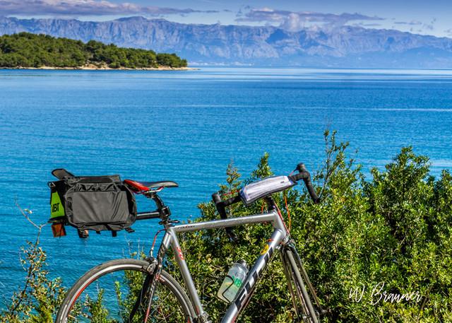 Bike Rest Area, Hvar, Croatia