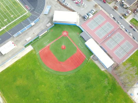 Grants Pass High School Synthetic Turf Baseball Field