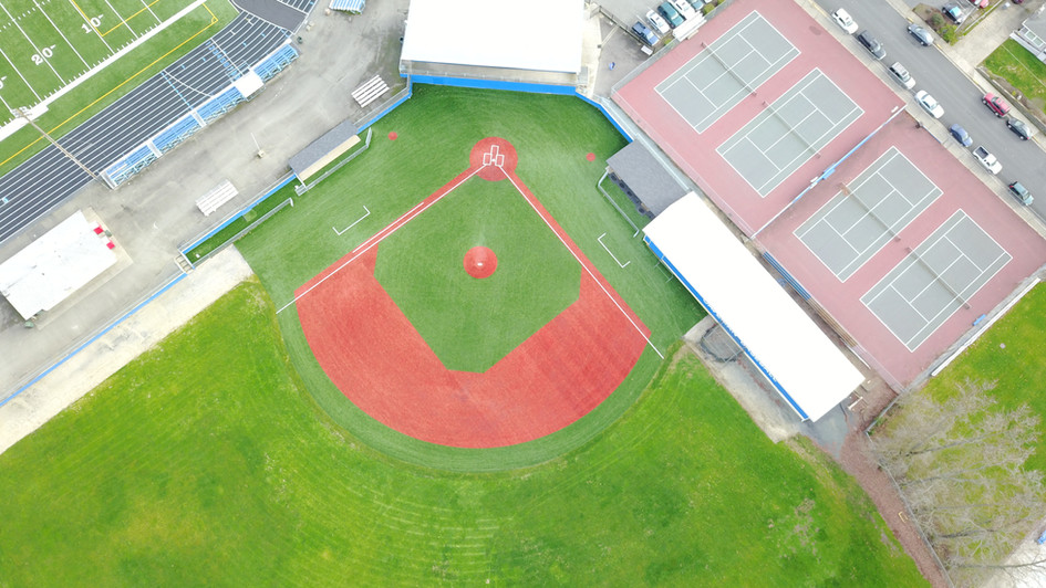 Grants Pass High School Synthetic Turf Baseball Field
