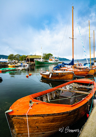 Fishing Boats, Bergen, Norway