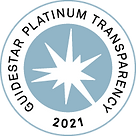 Guidestar Platinum Seal of Transparency 2021