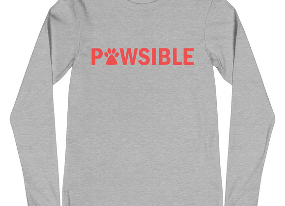 Pawsible Long Sleeve Tee