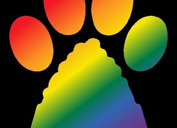 Pawsible Pride Logo