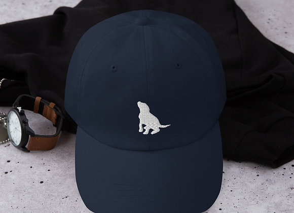 Puppy Silhouette Hat