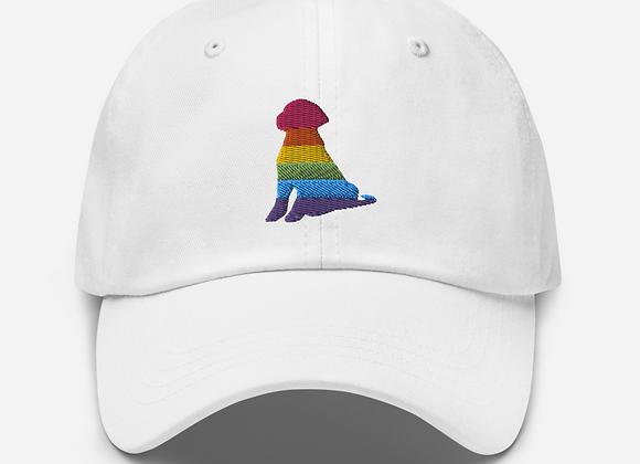 Rainbow Dog hat