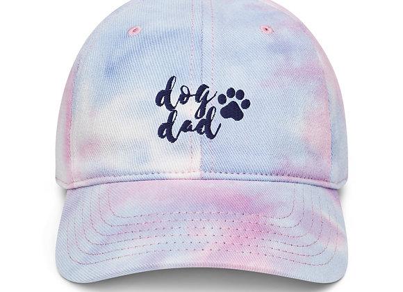 Dog Dad Pride Tie Dye Hat