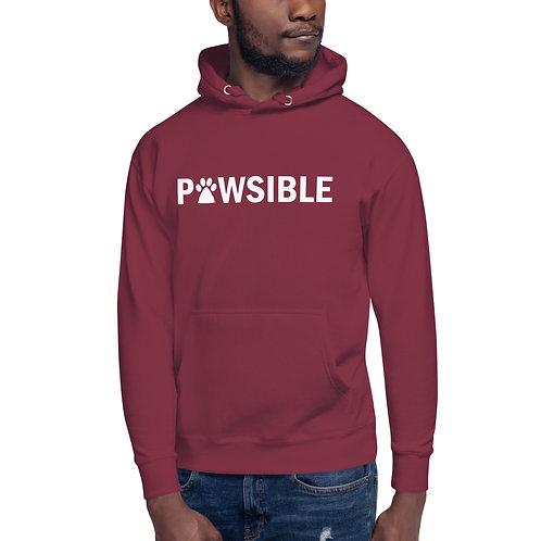 Pawsible Unisex Hoodie