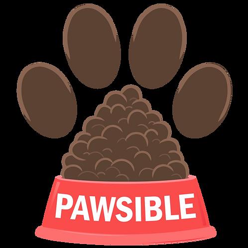 Pawsible Sticker