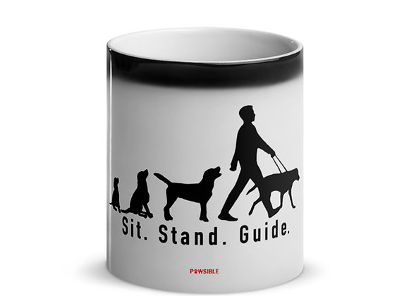 Sit. Stand. Guide. Magic Mug