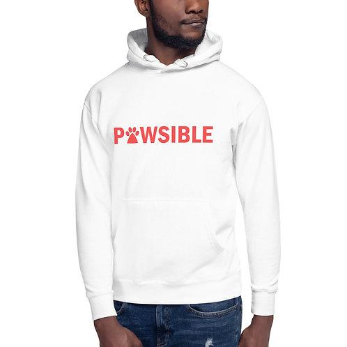 White Sweatshirt Front View