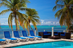 Pool view, Little Cayman