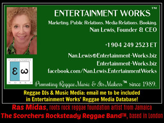The Scorchers Rocksteady Reggae Band Retains Entertainment Works™ for PR
