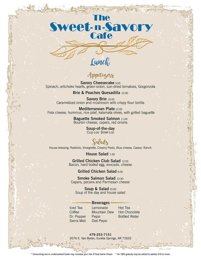 Sweet n Savory Lunch Menu Feb 2020 FINAL