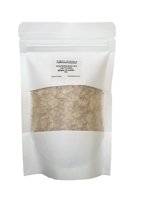 Sea Salt Flakes Ginger&Smoke Refill  (100g)