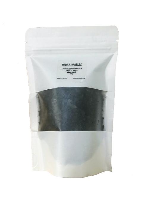 Sea Salt Flakes Charcoal Refill  (100g)
