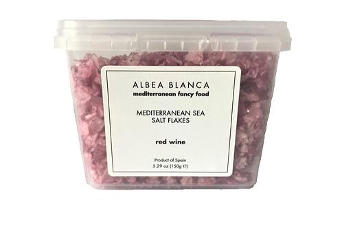 Sea Salt Flakes Red Wine - Albea Blanca (150g)