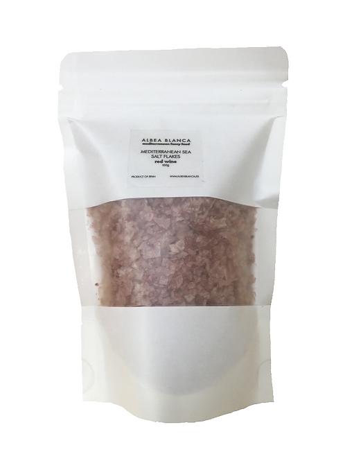 Sea Salt Flakes Red Wine Refill  (100g)