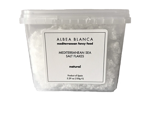 Sea Salt Flakes Natural - Albea Blanca (150g)