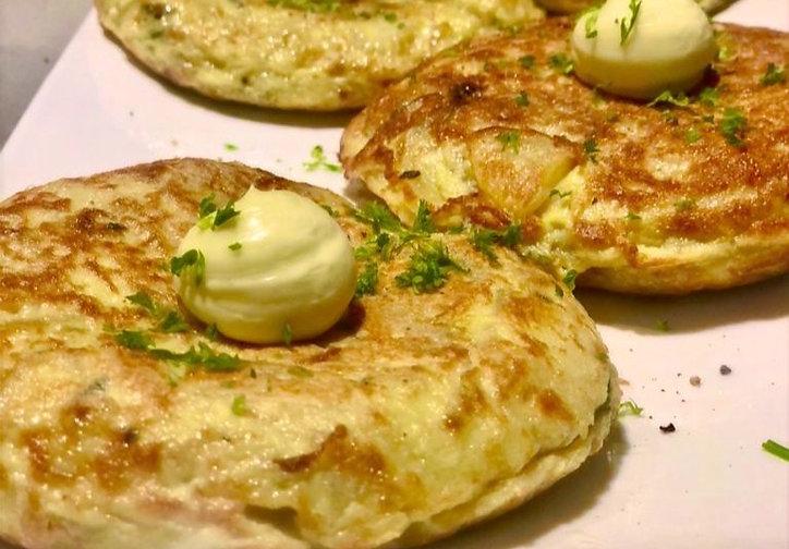 "Spanish Omelette ""Tortilla Española"" Prepared Meal - Baigorri"